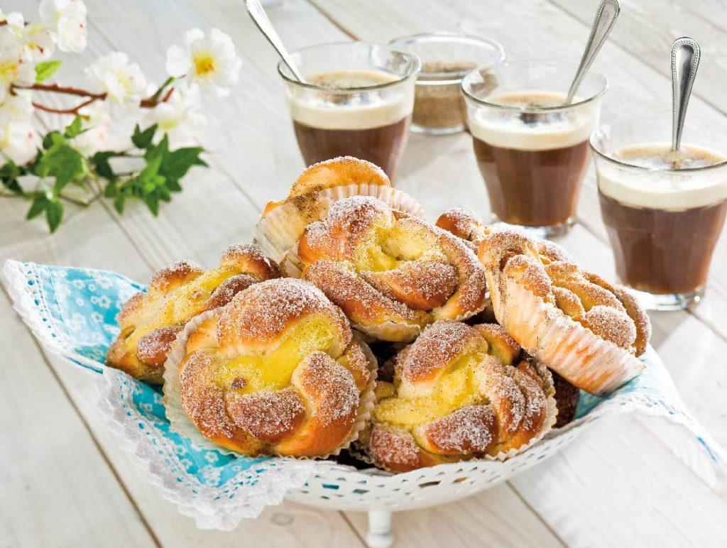 vaniljbullar och kaffe